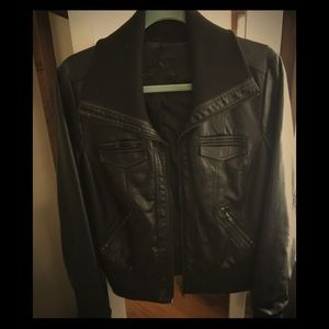 Jou Jou Black Faux leather Jacket